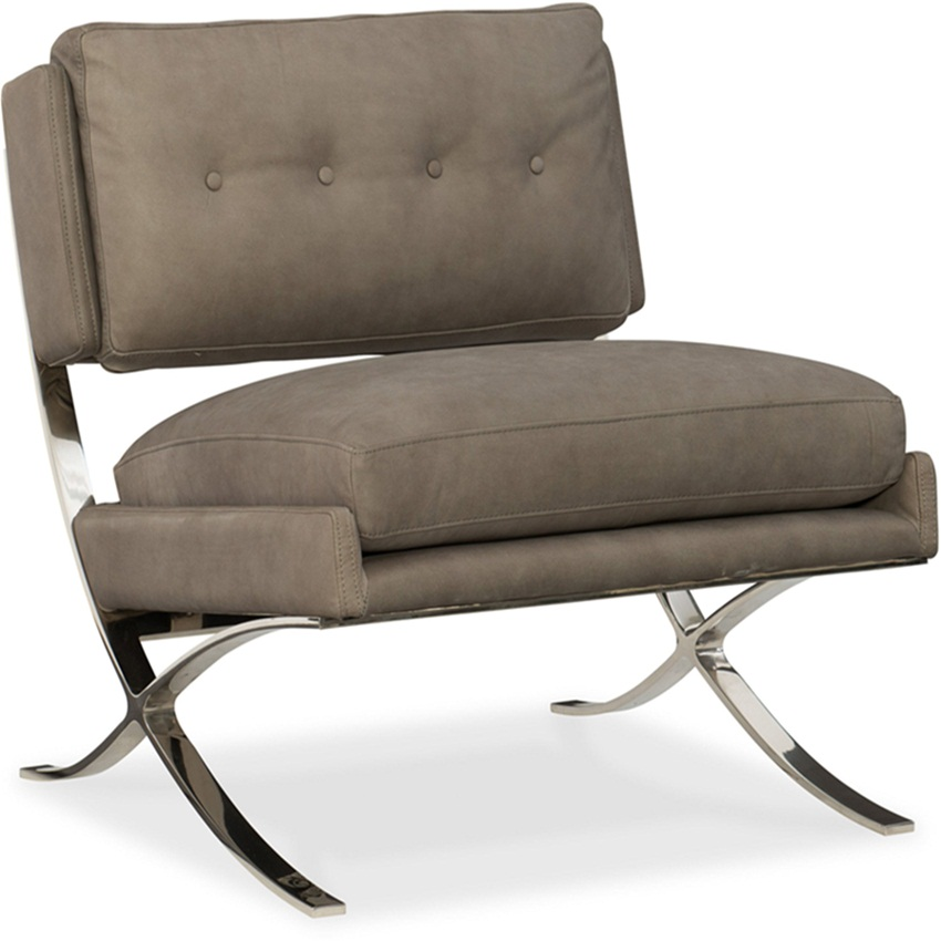 CHERIE Metal Frame Club Chair